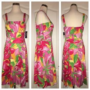 New! 🌷 Floral Summer Dress